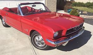 1966 Ford Mustang Convertible Been in family since new