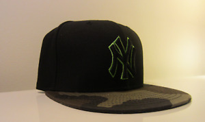 NY Yankees Camo New Era 59Fifty Fitted Hat! (Size 7 1/8) $12