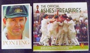 Ponting- At The Close Of Play (SIGNED) + Official Ashes Treasures Uralla Uralla Area Preview