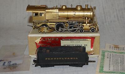 Olympia Gem Models Brass Gn 118 Prr E6s 4 4 2 Locomotive   Ho Gauge In Box Japan