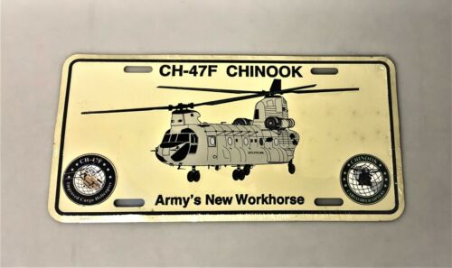 CH-47F Chinook License Plate