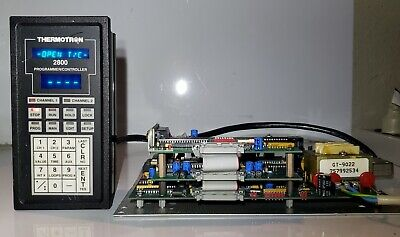 Thermotron 2800 Programmer Controller And Main Board