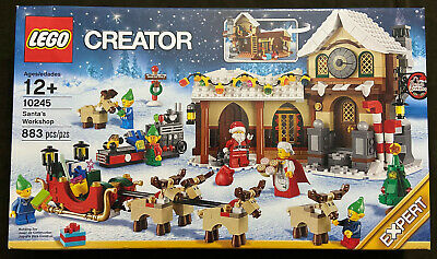 LEGO Creator Expert Santa's Workshop 10245 Christmas Winter Village Retired NEW