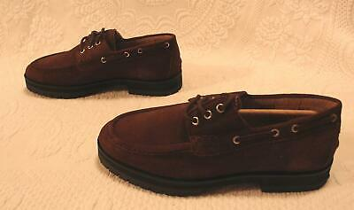 House of Hounds Men's Sirius Chunky Boat Shoes MC7 Brown Suede Size US:9 UK:8