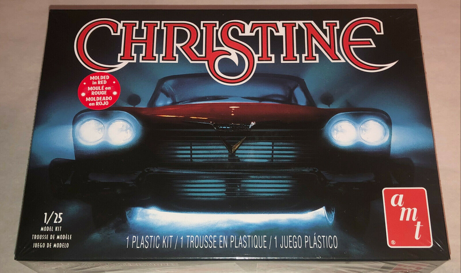 Christine Movie 1958 Plymouth Belvedere 1:25 Scale Model Kit