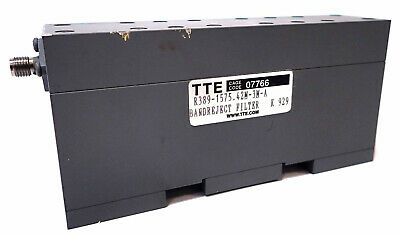 Tte R389-1575. 42m-3m-a Band Reject Filter K 929 Tested And Working