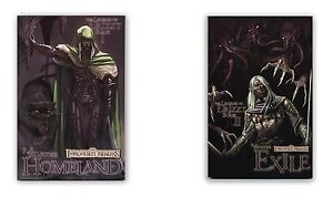 Forgotten-Realms-The-Legend-of-Drizzt-Book-1-2-Graphic-Novels-BRAND-NEW
