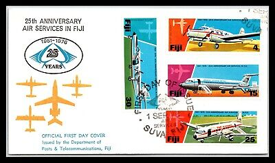 GP GOLDPATH: FIJI COVER 1976 FIRST DAY COVER _CV676_P23