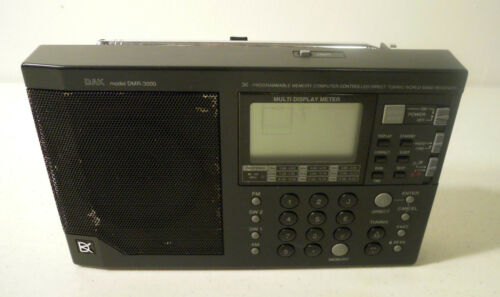 DAK: DMR-3000 RECEIVER FM/AM/SW PORTABLE RADIO