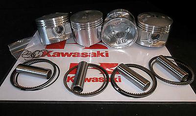 KAWASAKI KZ1000 Z1000 (1015cc) PISTON KITS (4) NEW +0.50mm OVERSIZE KiR