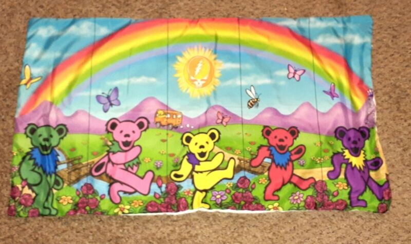 Grateful Dead SUPER SOFT & CUDDLY Dancing Bears Pillow Cases 2 for $25.99