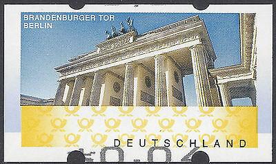 ATM Brandenburger Tor – extrem verschobener Werteindruck nach unten – Mi.Nr. 6