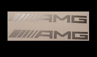 2 AMG Mercedes MB Aufkleber Sticker Logo A SL63 ML63 CLS C63 E63 CLK  SL 16,5cm