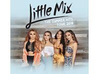 2 x Little mix tickets GOLDEN CIRCLE Huddersfield 15th July 2018