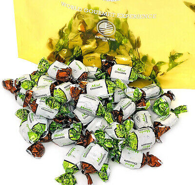 SweetGourmet Chocolate Filled Mints | Premium Hard Candies | Arcor Candy | 4 LB - Arcor Candy