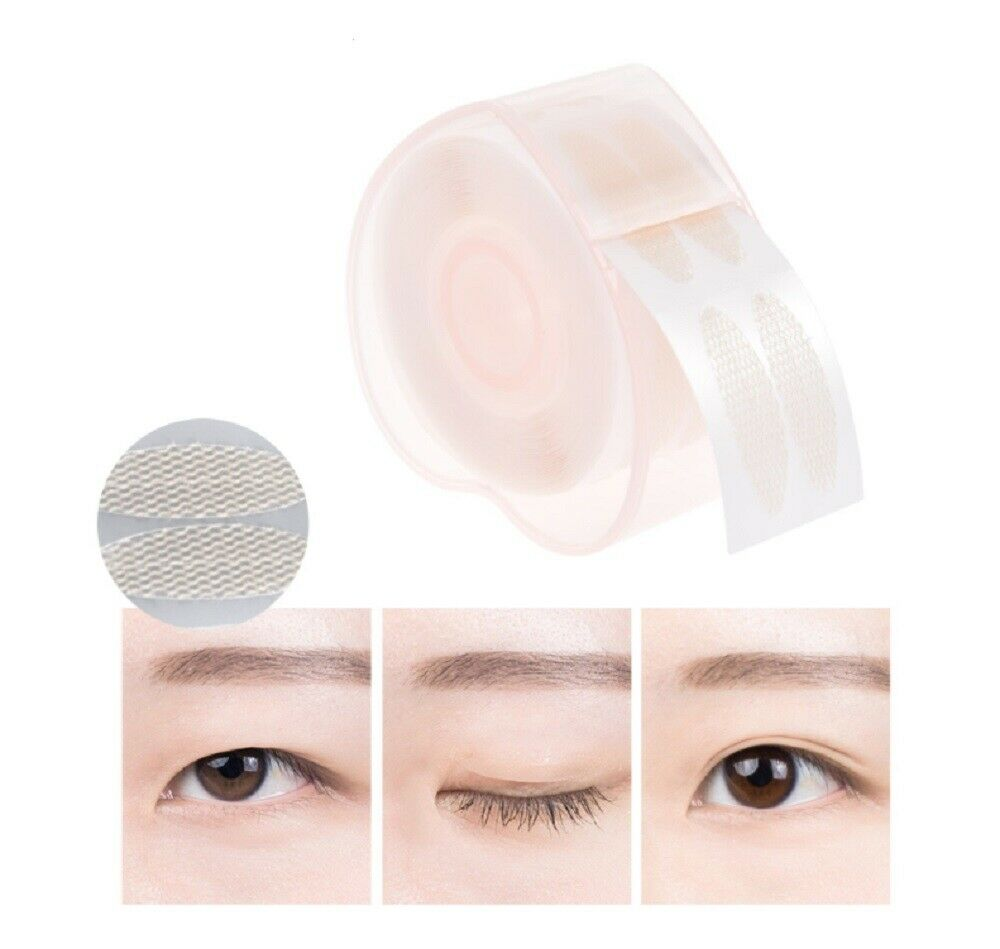 440Pcs  Eyelid Sticker Tape Double sided Invisible Eyelid Clear Adhesive Sticker Health & Beauty