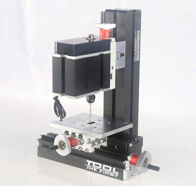 60w Mini Metal Drilling Machine Diy Woodworking Power Tool Modelmaking Craft