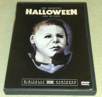 Halloween DVD *HORROR *HALLOWEEN Michael Myers RARE oop art cover](Halloween Dvd Cover)