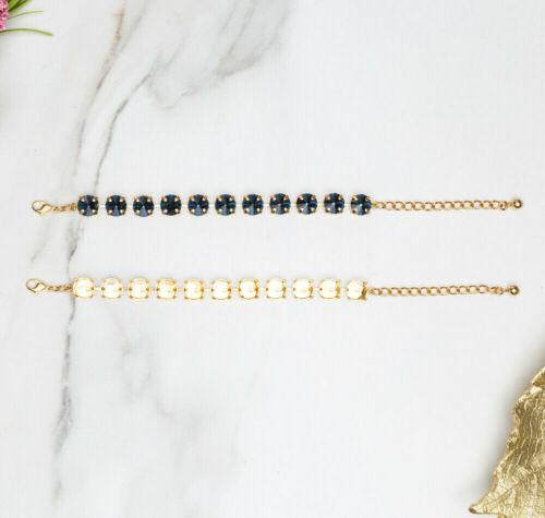 11mm | Classic Eleven Setting DIY Bracelet Base | Three Pieces (EB 107)