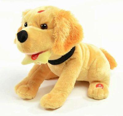 Plüsch Hund NINO No Dog  mit 3 Funktionen Elektrisch Kunststückchen Neu OVP
