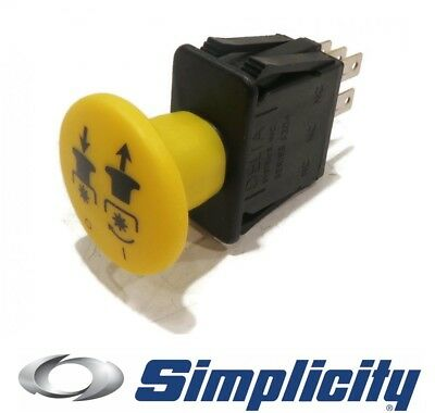 Genuine OEM PTO SWITCH for Simplicity Courier GTG GTH Hydro Cut Javelin Lancer ()