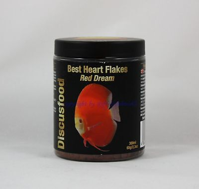 Best Heart Flakes Red Dream 10.1oz Discusfood Diskus Coloured Food 33,30 €/ (Best Red Food Colouring)