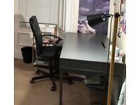 Ikea ALEX desk and chair
