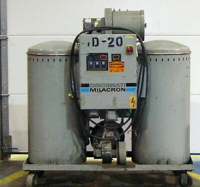 Cincinnati Milacron Material Dryer Model Dd-200 6502lr