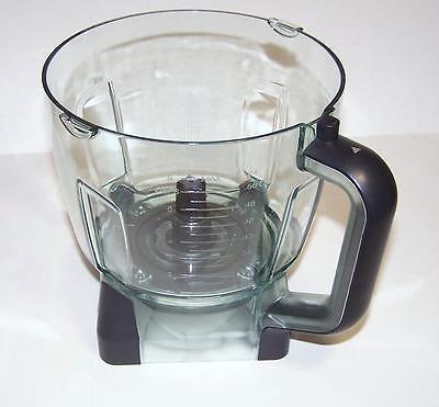 NEW Real Ninja 64oz (8 Cup) Food Processor Bowl for BL770 BL771 BL772 BL780CO