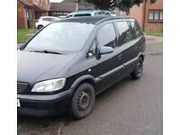 53 reg Vauxhall zafira diesel 7 seater 9 months mot
