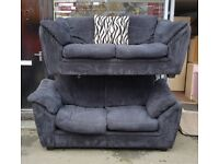 Sofa bed, sofa, black sofa, fabric black sofa