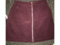 Skirt from new look worn once, size 8.