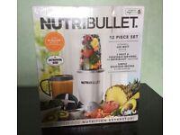 Nutribullet 12 piece set 600w brand new