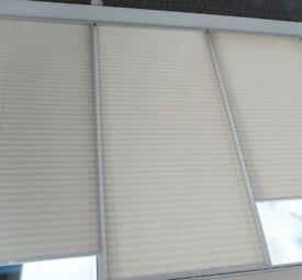 5 Pleated Window or Roof Blinds – £30 each o.n.o