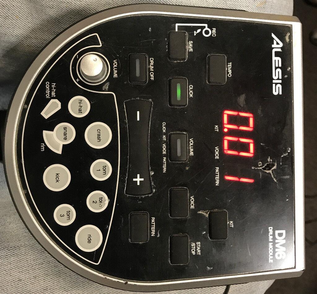 Alesis DM6 Drum Module / Brain with Wiring Loom | in Westminster, London |  Gumtree