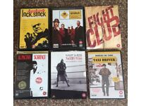 Lock Stock, Snatch, Raging Bull, Taxi Driver, Raging Bull & Scarface DVD collection