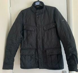 Genuine Barbour coat unisex in black