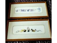 Two Dianne L Patterson Framed Prints.