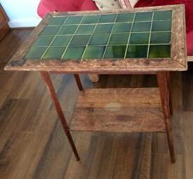 Antique vintage retro side table