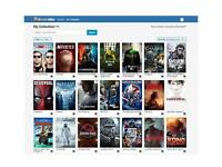 Digital HD collection 34 movies & TV shows Flixster / UV / UltraViolet
