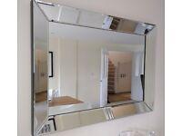 Lounge mirror 110cm x 80cm