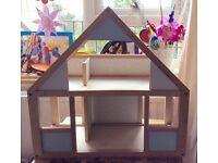 Wooden dolls house
