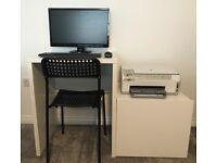 White Space Saver Desk - Ikea