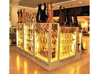 Retail Showcase kiosks Stand Shop Stall Market Display Cabinets