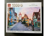 King 1000 piece jigsaw. City Collection. Rothenburg Germany