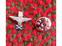 Parachute Regiment Pin St Andrews