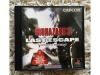 Game BIO HAZARD 3 LAST ESCAPE for Japanese PlayStation.