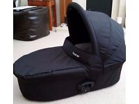 Oyster Carrycot with rain cover as NEW conditions
