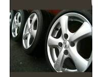 "15"" Oz vella Alloy wheels with tyres"