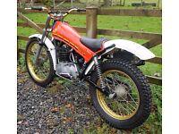 montesa cota 349 trials bike